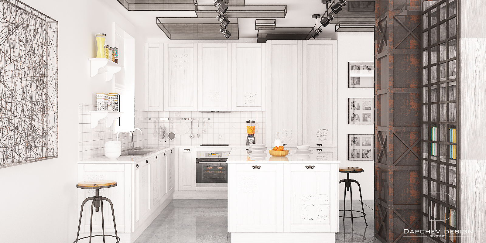 кухня-индустриален-стил
